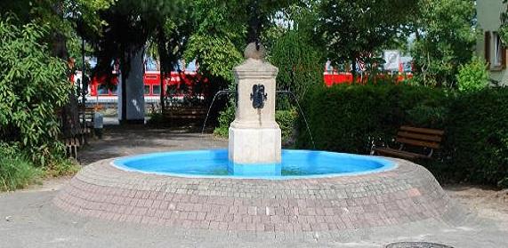Kohlerbrunnen am Josef-Kohler-Platz